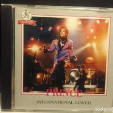 CDs de Música: CD PRINCE : INTERNATIONAL LOVER (U.S. TOUR, NOVEMBER 1982). Lote 222282465