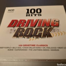 CDs de Música: DRIVING ROCK. 100 HITS. DEEP PUERPLE, IDOL, DR FEELGOOD, COCKER, SUEDEUFO, GARY MORE,SAXON,ANIMALS,,. Lote 222290568