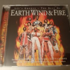 CDs de Música: EARTH WIND & FIRE. LET'S GROOVE. THE BEST. COLUMBIA. 1996?. Lote 222294145