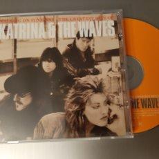 CDs de Música: KATRINA & THE WAVES. WALKING ON SHUNSHINE. THE GREATEST HITS. EMI. 1997. Lote 222294202