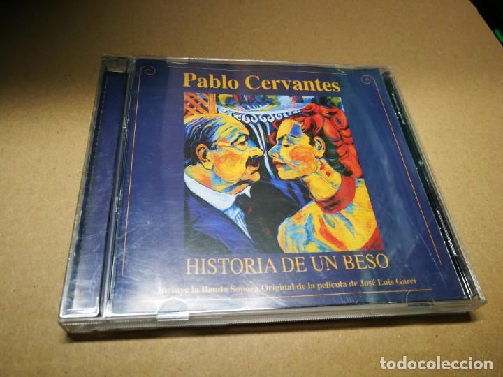 HISTORIA DE UN BESO BANDA SONORA PABLO CERVANTES CD ALBUM DEL AÑO 2002 14 TEMAS (Música - CD's Bandas Sonoras)