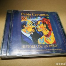 CDs de Música: HISTORIA DE UN BESO BANDA SONORA PABLO CERVANTES CD ALBUM DEL AÑO 2002 14 TEMAS. Lote 222303476