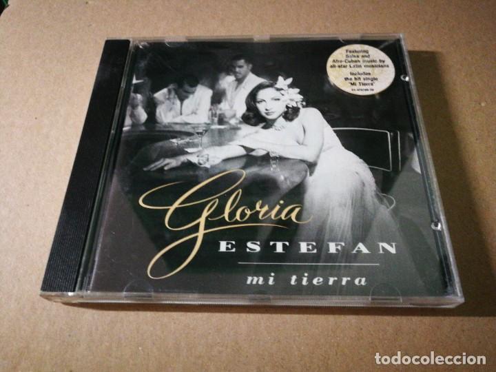 GLORIA ESTEFAN MI TIERRA CD ALBUM DEL AÑO 1993 CONTIENE 12 TEMAS (Música - CD's Latina)