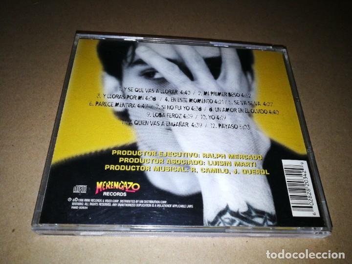 CDs de Música: MANNY MANUEL Autentico CD ALBUM DEL AÑO 1996 CONTIENE 12 TEMAS SALSA MERENGUE - Foto 2 - 222306442