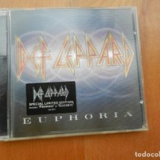 CDs de Música: DEF LEPPARD - EUPHORIA - CD ESPECIAL LIMITED EDITION INCLUDES PROMISES GOOD BYE. Lote 222308875