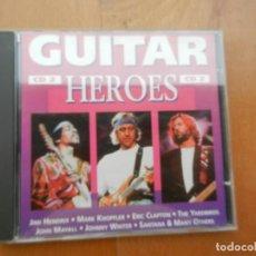 CDs de Música: GUITAR CD 2 - HEROES - HENDRIX - CLAPTON - SANTANA . MAYALL - ETC.... Lote 222311141