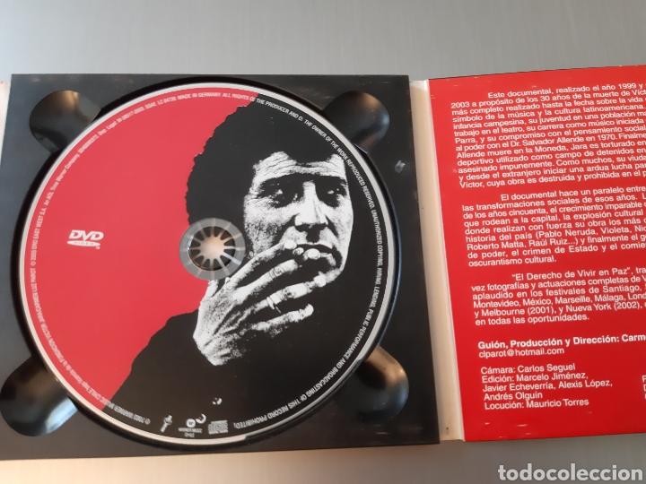 CDs de Música: VICTOR JARA. EL DERECHO DE VIVIR EN PAZ. ANTOLOGIA. 2 CD Y 1 DVD. - Foto 4 - 222314897
