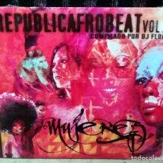 CDs de Música: VARIOUS - REPUBLICAFROBEAT VOL. 4 - MUJERES CD, COMPILATION 2017 PRECINTADO. Lote 222317198