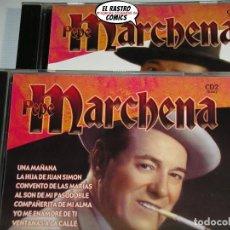 CDs de Música: PEPE MARCHENA, CD 1 Y CD 2, DOBLE, SEND MUSIC, 2006. Lote 222344471