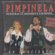 CDs de Música: PIMPINELA CD NUESTRAS 12 MEJORES CANCIONES EN CONCIERTO 1994 SPAIN. Lote 222373792