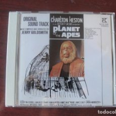 CDs de Música: CD 1990 PLANET OF THE APES / PLANETA DE LOS SIMIOS 1968 / JERRY GOLDSMITH - HESTON - COMO NUEVO. Lote 222377150