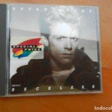 CDs de Música: BRYAN ADAMS - RECKLESS - CD. Lote 222383240