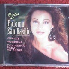 CDs de Música: PALOMA SAN BASILIO (EXITOS DE... JUNTOS, SOMBRAS....) CD 1997 SERIE DIFUSIÓN. Lote 222383673