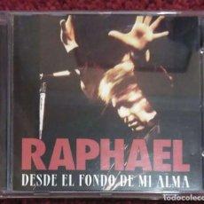 CDs de Música: RAPHAEL (DESDE EL FONDO DE MI ALMA) CD 1995. Lote 222383816