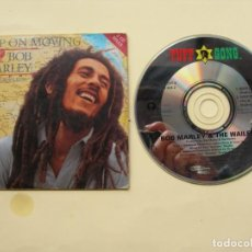 CDs de Música: BOB MARLEY / KEEP ON NOVING 2 VERSIONES / CD SINGLE. Lote 222385970