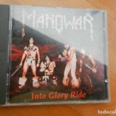 CDs de Música: MANOWAR -INTO GLORY RIDE - CD -1983 GERMANY. Lote 222389591