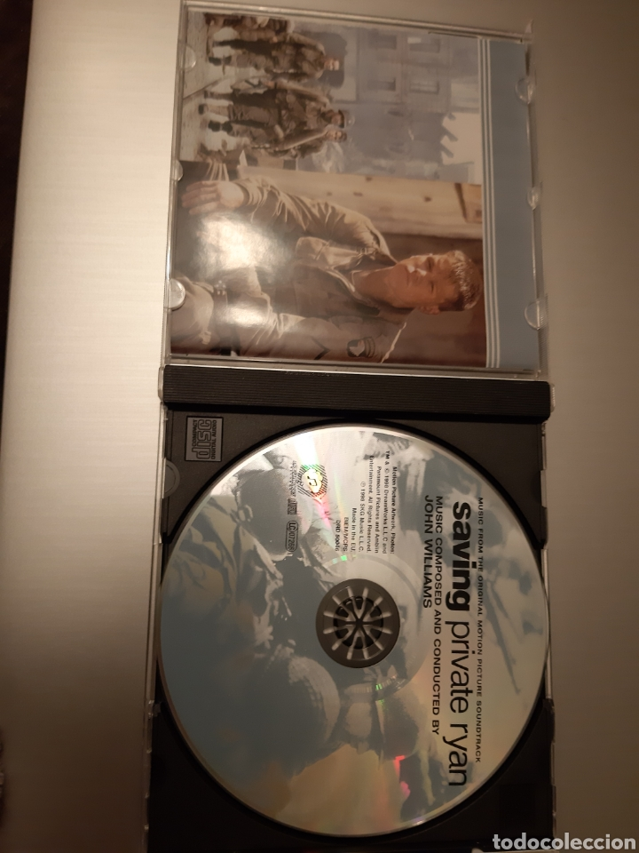 CDs de Música: SAVING PRIVATE RYAN. COMPOSED AND CONDUCTED BY JOHN WILLIANS. ORIGINAL SOUNDTRACK. - Foto 3 - 222400832