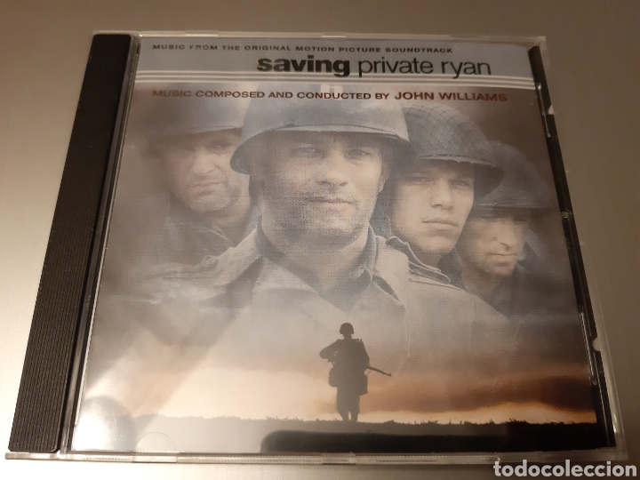 SAVING PRIVATE RYAN. COMPOSED AND CONDUCTED BY JOHN WILLIANS. ORIGINAL SOUNDTRACK. (Música - CD's Bandas Sonoras)