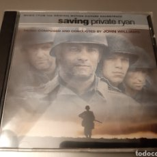 CDs de Música: SAVING PRIVATE RYAN. COMPOSED AND CONDUCTED BY JOHN WILLIANS. ORIGINAL SOUNDTRACK.. Lote 222400832