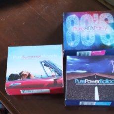 CDs de Música: LOTE DE TRES ÁLBUMES DE TRES CD CADA UNO. Lote 222410497