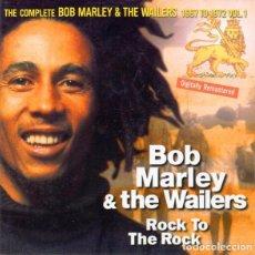 CDs de Música: BOB MARLEY & THE WAILERS - ROCK TO THE ROCK CD 1998 GRABACIONES DE 1968 MUCHAS INEDITAS. Lote 222415861