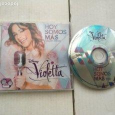 CDs de Música: HOY SOMOS MAS EDICION DELUXE DISNEY VIOLETTA CD MUSICA KREATEN. Lote 222416130