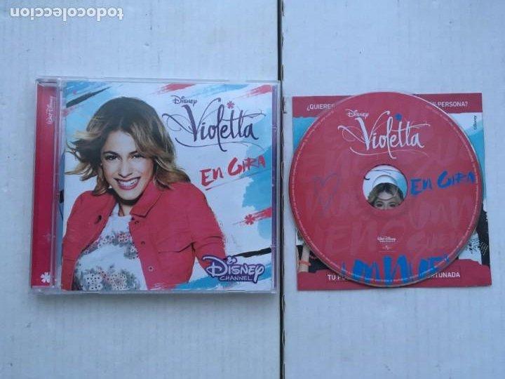 VIOLETTA EN GIRA CD MUSICA KREATEN (Música - CD's Otros Estilos)