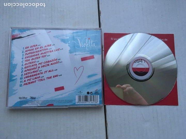CDs de Música: VIOLETTA EN GIRA CD MUSICA KREATEN - Foto 2 - 222416461