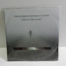 CDs de Música: DISCO CD. THE SUICIDE OF WESTERN CULTURE - HOPE ONLY BRINGS PAIN. COMPACT DISC. PROMOCIONAL.. Lote 222428261