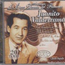 CDs de Música: JUANITO VALDERRAMA - ANTOLOGIA LA EPOCA DORADA DEL FLAMENCO Nº 4 - CD NUEVO Y PRECINTADO. Lote 222428458