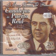CDs de Música: CANALEJAS DE PUERTO REAL - ANTOLOGIA LA EPOCA DORADA DEL FLAMENCO Nº 5 - CD NUEVO Y PRECINTADO. Lote 222428843