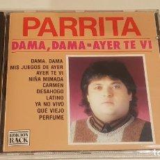 CDs de Música: PARRITA / DAMA, DAMA / CD - PERFIL-1992 / PRECINTADO.. Lote 222429273