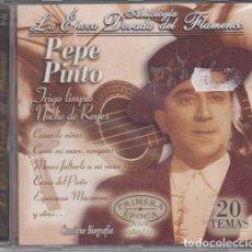 CDs de Música: PEPE PINTO - ANTOLOGIA LA EPOCA DORADA DEL FLAMENCO Nº 2 - CD NUEVO Y PRECINTADO. Lote 222429287