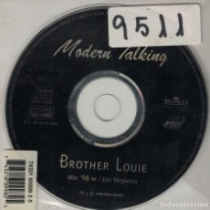 CDs de Música: MODERN TALKING - BROTHER LOUIE (CDSINGLE, BMG MUSIC 1998). Lote 222434015
