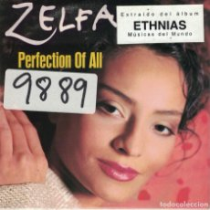 CDs de Música: ZELFA - PERFECTION OF ALL (TWO VERSIONS) (CDSINGLE CARTON, CNR MUSIC 1998). Lote 222436697