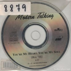 CDs de Música: MODERN TALKING - YOU'RE MY HEART, YOU'RE MY SOUL (CDSINGLE, BMG MUSIC 1998). Lote 222440763