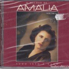 CDs de Música: AMALIA RODRIGUES - O MELHOR - DOBLE CD NUEVO Y PRECINTADO - FADO. Lote 222441955