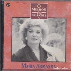 CDs de Música: MARIA ARMANDA - O MELHOR DOS MELHORES - CD - FADO. Lote 257703280