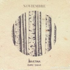 CDs de Música: MARTINA QUIERE BAILAR - NOVIEMBRE - CD FOLK CENTRO EUROPEO - NUEVO Y PRECINTADO. Lote 222442488