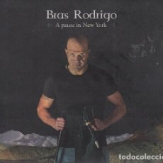 CDs de Música: BRAS RODRIGO - A PAUSE IN NEW YORK - CD FOLKLORE ASTURIANO. Lote 222446421