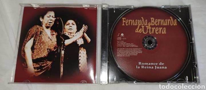 CDs de Música: cd - FERNANDA Y BERNARDA DE UTRERA - ROMANCE DE LA REINA JUANA - Flamenco duo - Foto 2 - 222447327