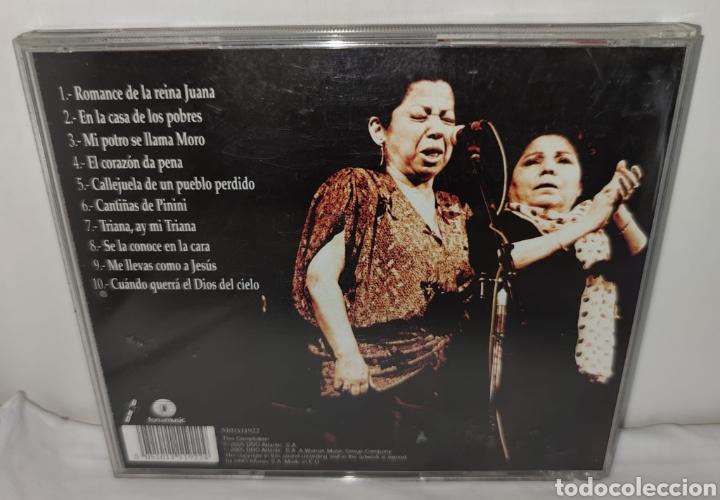 CDs de Música: cd - FERNANDA Y BERNARDA DE UTRERA - ROMANCE DE LA REINA JUANA - Flamenco duo - Foto 5 - 222447327