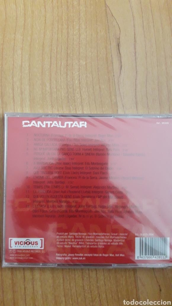 CDs de Música: CANTAUTAR. AÚN RETRACTILADO - Foto 2 - 222451265