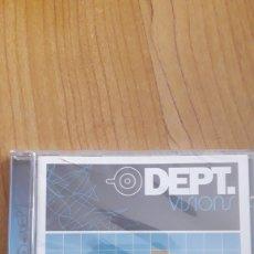 CDs de Música: DEPT. VISIONS. AÚN RETRACTILADO. Lote 222451793