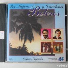 CDs de Música: CDS DE MÚSICA: LOS MEJORES BOLEROS Y CANCIONES VOL.2 / CD (REF.176). LOTE 165286321 LOS MEJORES BOLE. Lote 222461475