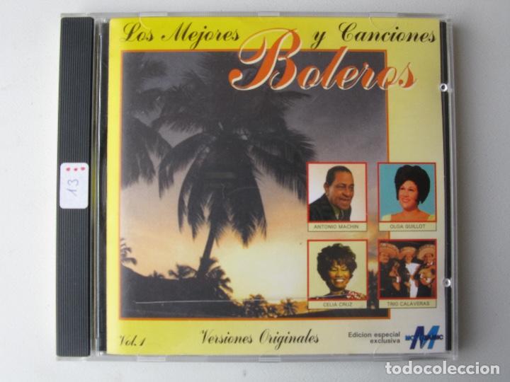 LOS MEJORES BOLEROS Y CANCIONES VOLUMEN 1 (Música - CD's Otros Estilos)