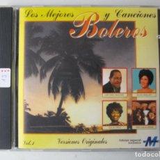 CDs de Música: LOS MEJORES BOLEROS Y CANCIONES VOLUMEN 1. Lote 222461732
