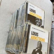 CDs de Música: LOTE 40 CD LOUIS ARMSTRONG ALTAYA COLECCION COMPLETA (CD-HAB1). Lote 222467522