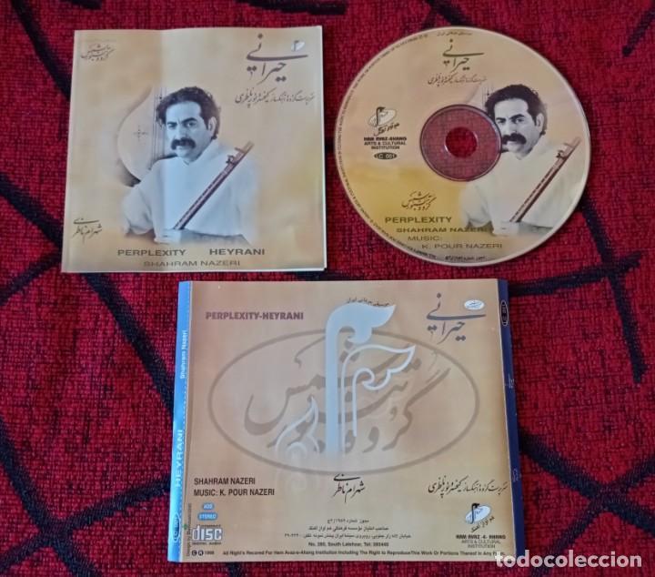 SHAHRAM NAZERI ** PERPLEXITY HEYRANI ** CD ORIGINAL 1998 (Música - CD's World Music)