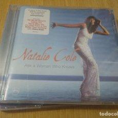 CDs de Música: NATALIE COLE CD ASK A WOMAN WHO KNOWS DIANA KRALL INVITADA-JAZZ. Lote 222470772